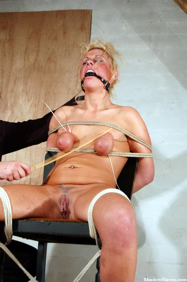 Tied and caned